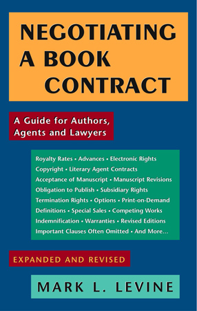 Negotiating A Book Contract